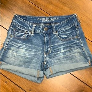 American Eagle Outfitters denim jean shorts